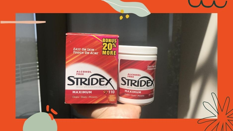 Stridex maximum strength pads